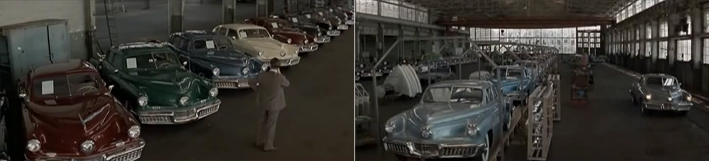Preston Tucker factory in Francis Ford Coppola movie