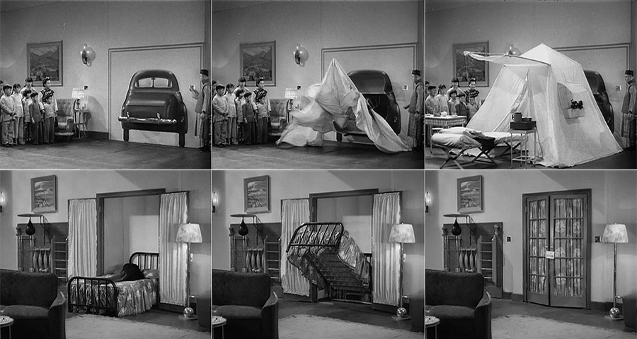 ... Marx Brothers - The Big Store - Chinese family - Car trunk - Foldout tent bed & TOLD by DESIGN | You donu0026#8217;t like this bed I show you another one