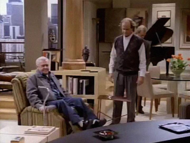 Frasier The Good Son S1e1 Martin Crane S New Comfy Chair